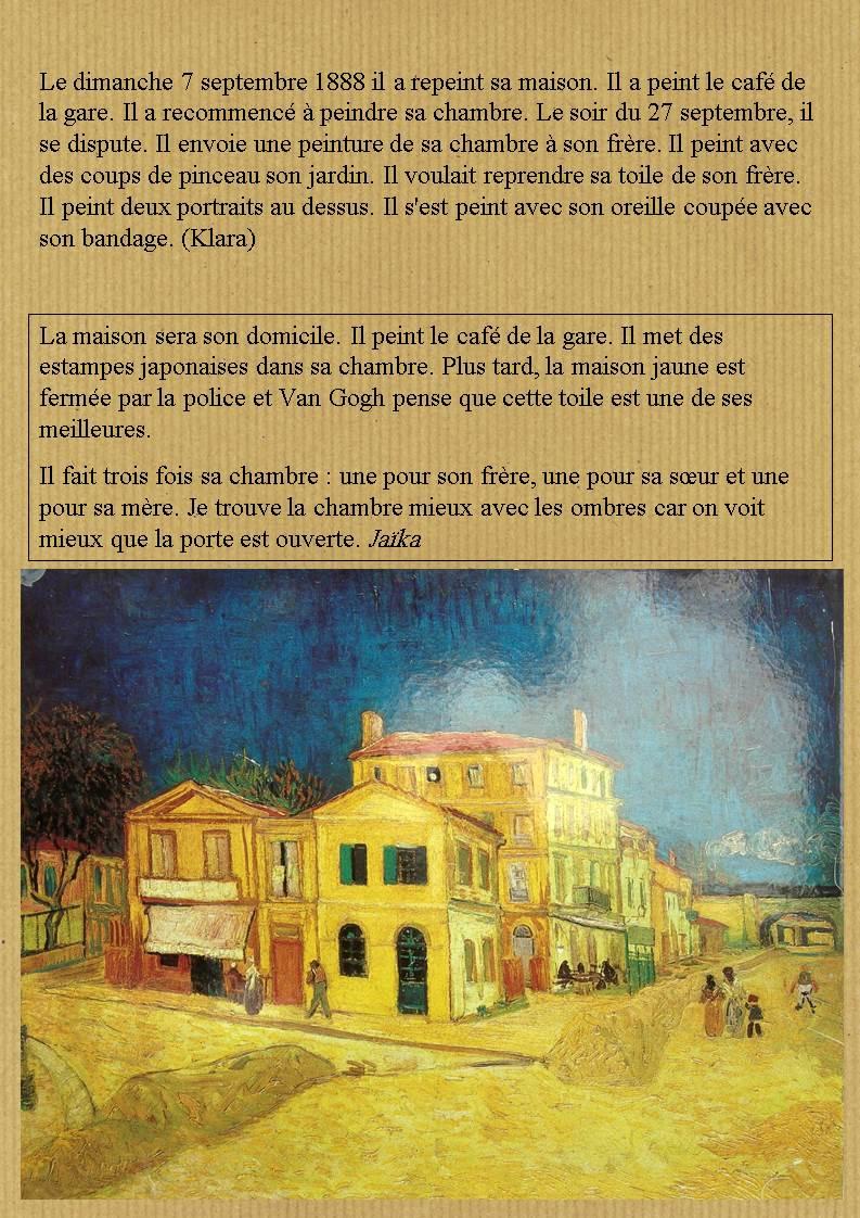 La chambre d\'Arles » de Vincent Van Gogh - Malle Arts
